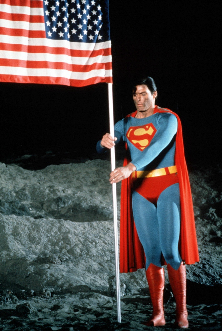 Christopher Reeve in 'Superman'